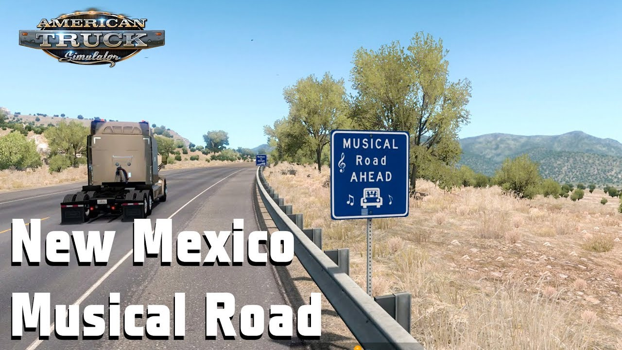 Musical road new mexico