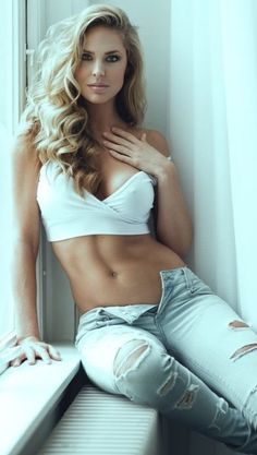 Hot clothed women