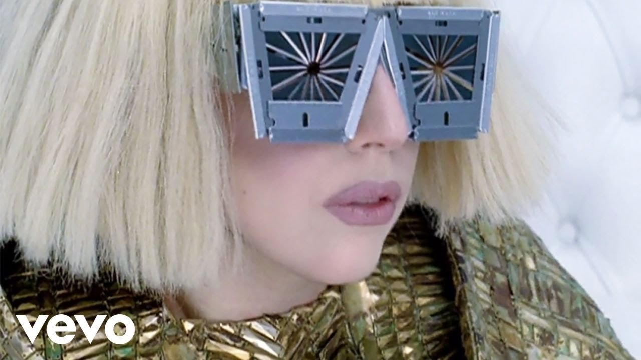 Brown eyes lady gaga official music video