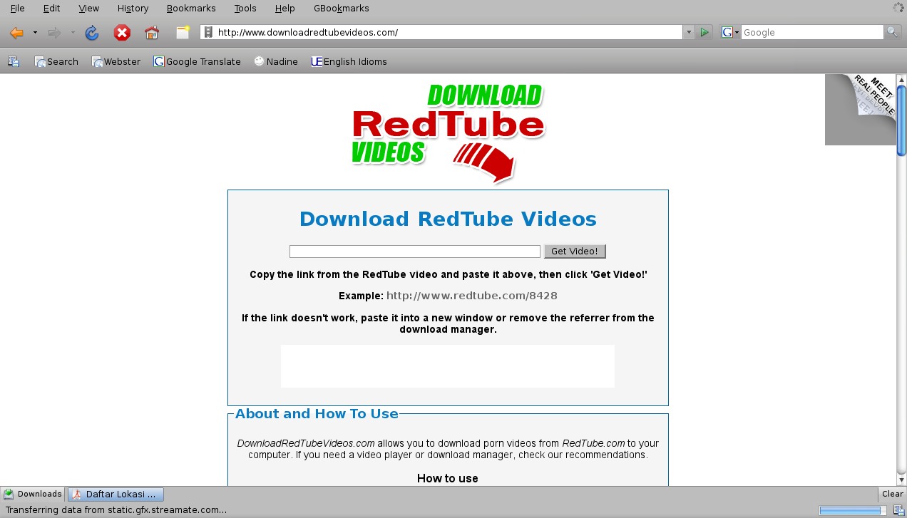 How to download redtube videos